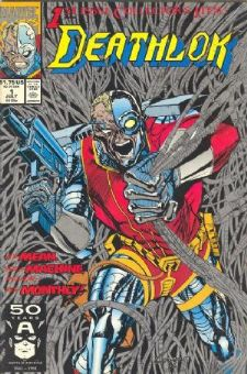 Comic: DEATHLOK #1 1st Issue Collector's Item (1991) Baseball cards value