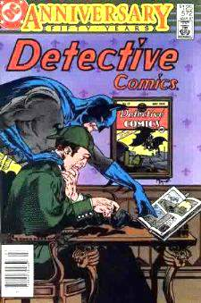 Comic: Detective Comics #572 (Batman) FIFTY YEARS Anniversary Baseball cards value