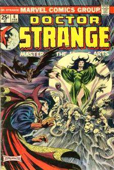 Comic: DOCTOR STRANGE #.6 (1975) Baseball cards value