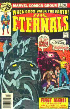 Comic: ETERNALS #1 First Issue (July,1976) Baseball cards value