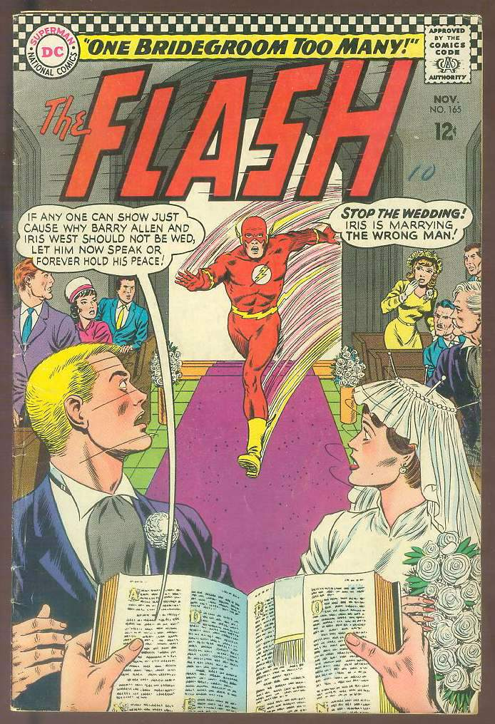 Comic: FLASH #165 (1966) Baseball cards value