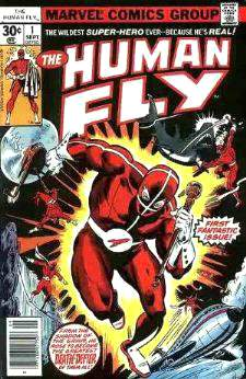 Comic: HUMAN FLY #1 First Fantastic Issue (1990) Baseball cards value
