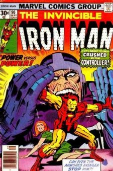 Comic: The Invincible IRON MAN #.90 (1976) Baseball cards value