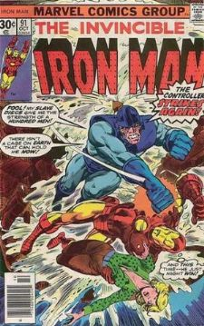 Comic: The Invincible IRON MAN #.91 (1976) Baseball cards value