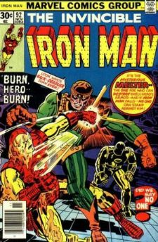 Comic: The Invincible IRON MAN #.92 (1976) Baseball cards value