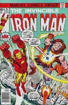Comic: The Invincible IRON MAN #.93 (1976) Baseball cards value