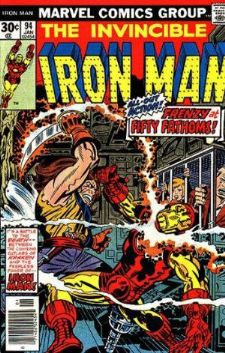 Comic: The Invincible IRON MAN #.94 (1977) Baseball cards value
