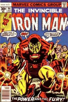 Comic: The Invincible IRON MAN #.96 (1977) Baseball cards value