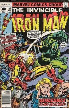 Comic: The Invincible IRON MAN #.97 (1977) Baseball cards value
