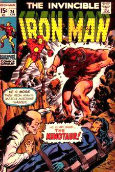 Comic: The Invincible IRON MAN #.24 Baseball cards value