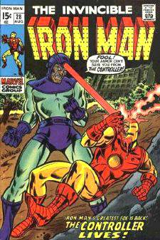 Comic: The Invincible IRON MAN #.28 Baseball cards value