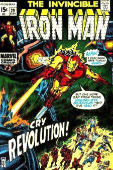 Comic: The Invincible IRON MAN #.29 Baseball cards value