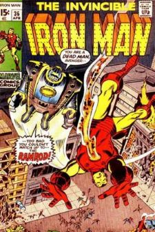 Comic: The Invincible IRON MAN #.36 Baseball cards value