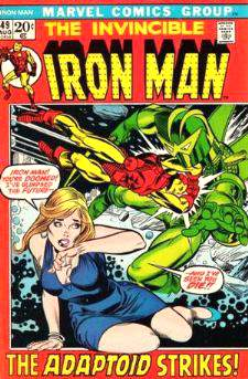 Comic: The Invincible IRON MAN #.49 Baseball cards value