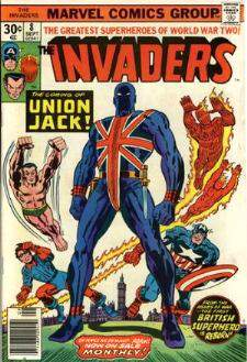 Comic: INVADERS #.8 (1976) Baseball cards value