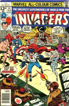 Comic: INVADERS #14 (1977) Baseball cards value