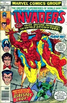 Comic: INVADERS #22 (1977) Baseball cards value