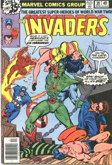 Comic: INVADERS #39 (1979) Baseball cards value