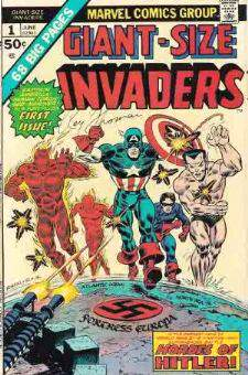 Comic: INVADERS  GIANT-Size #1 [#b] (1974) Baseball cards value