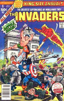 Comic: INVADERS  KING-Size ANNUAL #1 [#b] (1977) Baseball cards value