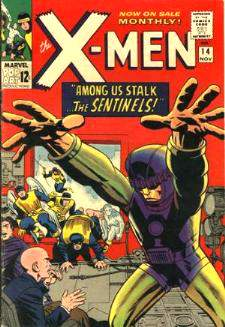 Comic: X-MEN  #.14 (12 cents-1965) Baseball cards value