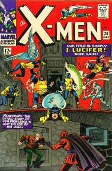 Comic: X-MEN  #.20 w/Lucifer (20 cents-1966) Baseball cards value