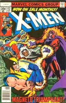 Comic: X-MEN  #112 w/Magneto (1978) Baseball cards value