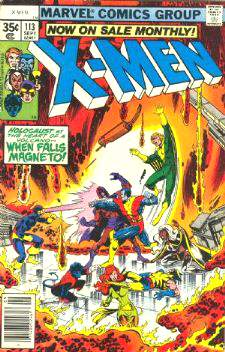 Comic: X-MEN  #113 w/Magneto (1978) Baseball cards value