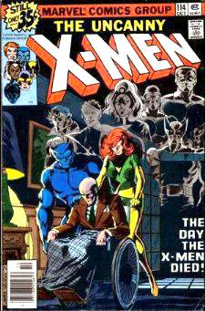Comic: X-MEN  #114 (1978) Baseball cards value