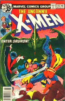 Comic: X-MEN  #115 (1978) Baseball cards value