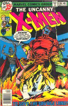 Comic: X-MEN  #116 (1978) Baseball cards value