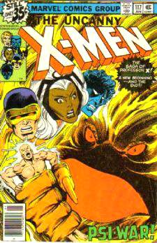 Comic: X-MEN  #117 (1979) Baseball cards value