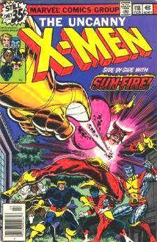 Comic: X-MEN  #118 (1979) Baseball cards value