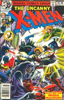 Comic: X-MEN  #119 (1979) Baseball cards value
