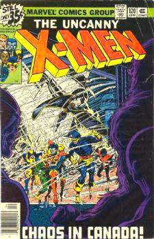 Comic: X-MEN  #120 w/Alpha Flight cameo (1979) Baseball cards value