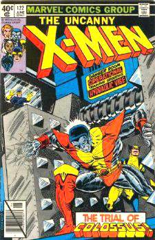 Comic: X-MEN  #122 (1979) Baseball cards value
