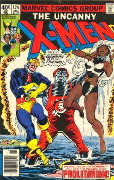 Comic: X-MEN  #124 (1979) Baseball cards value