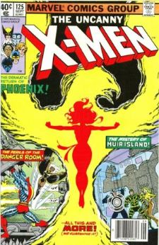 Comic: X-MEN  #125 FIRST Mutant X (1979) Baseball cards value