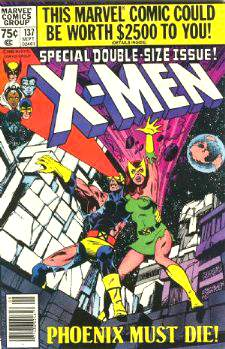 Comic: X-MEN  #137 Special DOUBLE-SIZE (1980) Baseball cards value