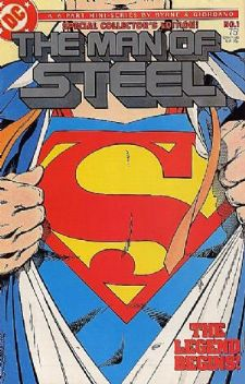 Comic: MAN of STEEL Special Collector's Edition #1 (1987) Baseball cards value