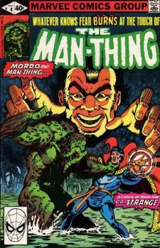 Comic: MAN-THING #.4 (1979) Baseball cards value