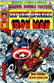 Comic: MARVEL DOUBLE FEATURE #.1 (CAPTAIN AMERICA & IRON MAN) (1973) Baseball cards value