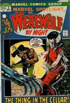 Comic: Marvel Spotlight #.3 on WEREWOLF BY NIGHT (1971) Baseball cards value