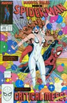 Comic: Marvel Tales #232 Featuring SPIDER-MAN & Dazzler (1989) Baseball cards value