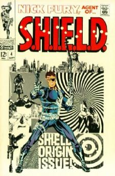Comic: NICK FURY Agent of SHIELD #4 (12 cents!,1968) Baseball cards value