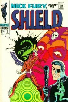 Comic: NICK FURY Agent of SHIELD #5 (12 cents!,1968) Baseball cards value