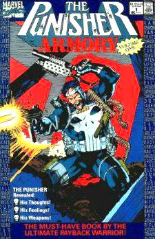Comic: PUNISHER Armory #1 First Issue (1990) Baseball cards value