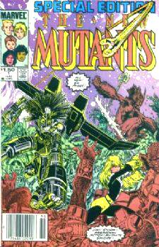 Comic: NEW MUTANTS Special Edition #1 (1985) Baseball cards value