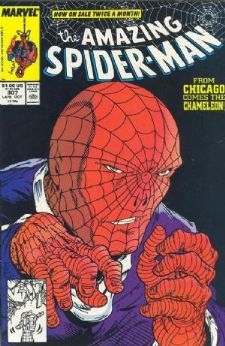 Comic: AMAZING SPIDER-MAN #307 Baseball cards value