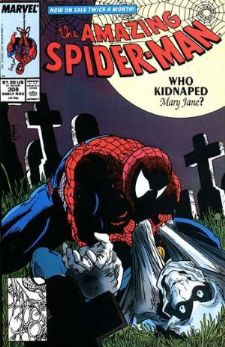 Comic: AMAZING SPIDER-MAN #308 Baseball cards value